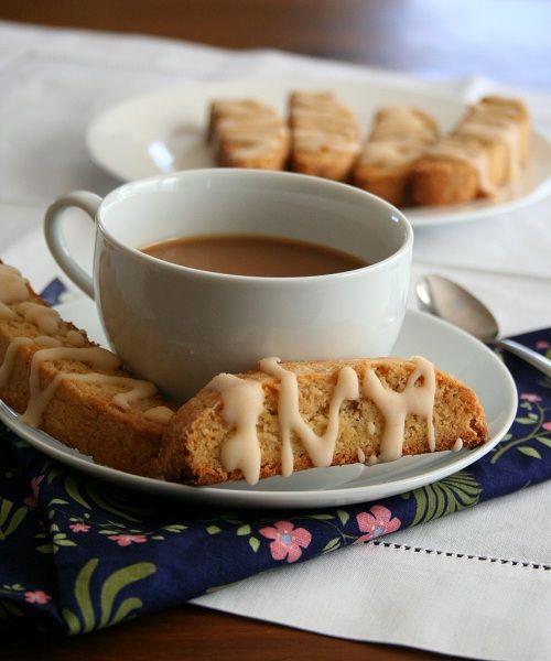 Cardamom- Orange Biscotti Biscotti: 2 cups almond flour ½ cup Swerve Sweetener or granulated erythritol 1 tsp baking powder, ½ tsp xanthan gum 1 tbsp orange zest, ¾ tsp ground cardamom ¼ cup butter, melted, 1 large egg, lightly beaten ½ tsp vanilla extract Orange Glaze: ¼ cup powdered erythritol 1 ½ tbsp freshly squeezed orange juice