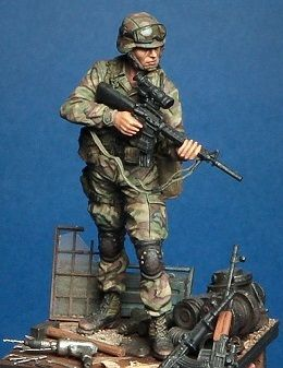 Смола комплекты 1/35 масштаб современные американские солдаты поиск вперед солдаты смола модель DIY игрушки