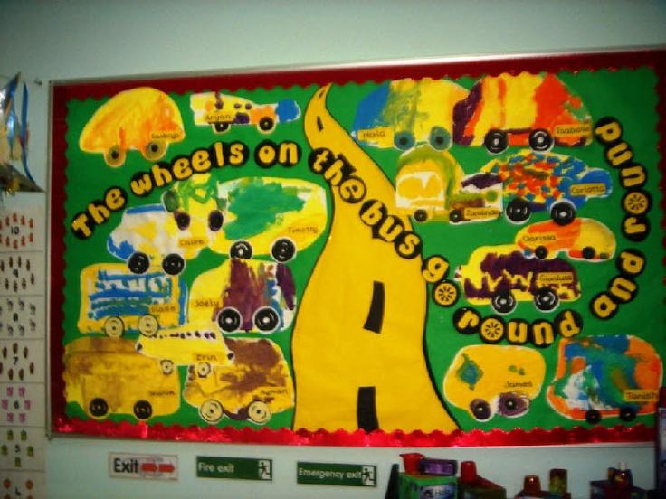 Transport classroom display photo - Photo gallery - SparkleBox
