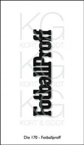 KORT&GODT+-+DIE170+-+FOTBALLPROFF Diesen+kan+brukes+i+de+fleste+kuttemaskiner+som+Sizzix+Big+Shot,+Cuttlebug,+Grand+Calibur+osv.Mål+ca.72x11mm.+