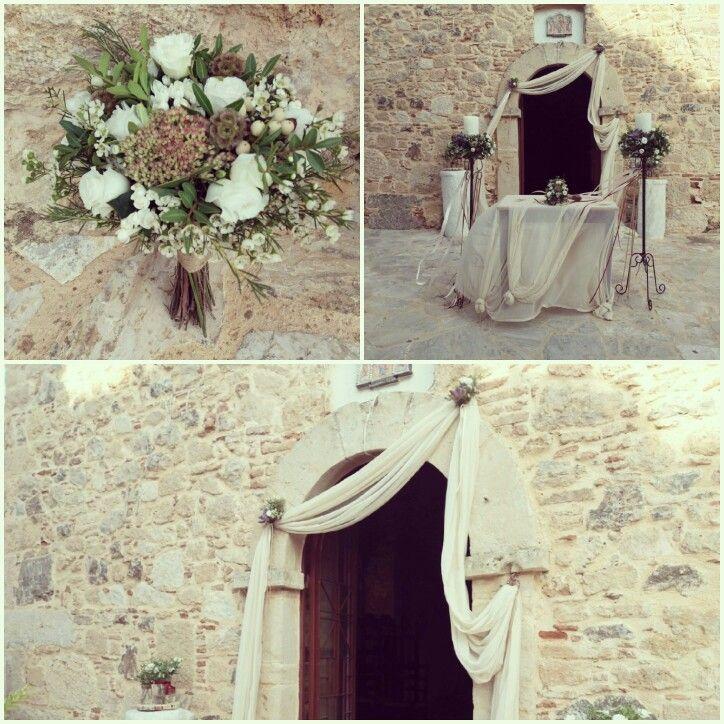 """Διακόσμηση γάμου! Παναγία Γκαρικά, Κερατέα!! """"Ευχές με πεταλούδες"""" Σεϊζάνη 3,Ν.Ιωνία 211-4014023"""