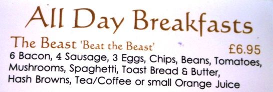 The Beast - Breakfast in Wales | The Travel Tart Blog