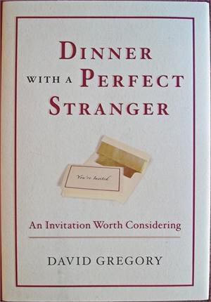 I really found this to be great premise for a story. Having a dinner invitation from Jesus himself and getting to talk out your problems with him. Now that would be a meal to remember. Dinner with a Perfect Stranger