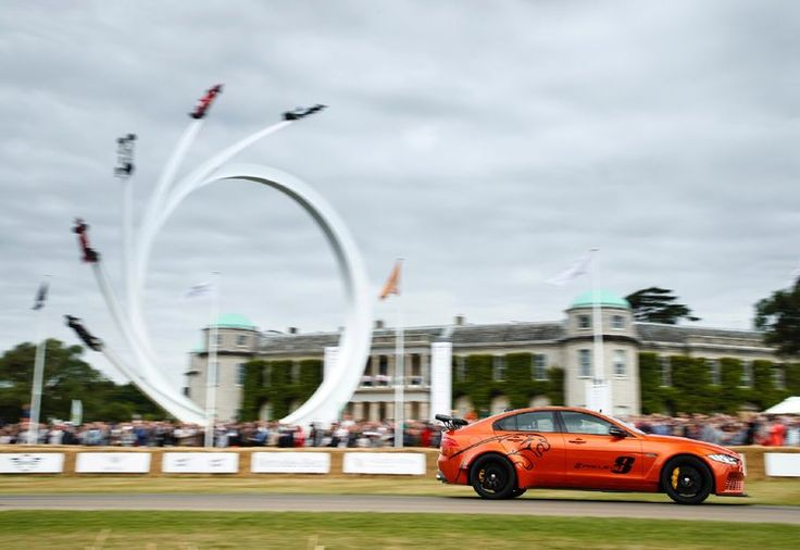 Making its global dynamic debut at the Goodwood Festival of Speed, the new  Jaguar XE SV Project 8 has picked up the coveted Michelin Supercar Paddock  Showstopper Trophy.