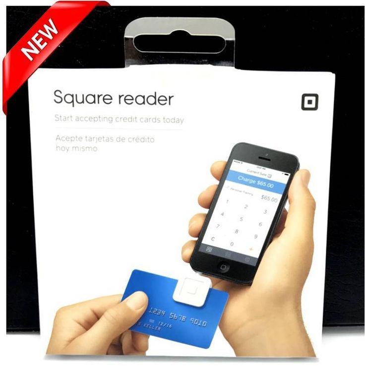 NEW Square Credit Card Reader for Apple and Android (White) #Square
