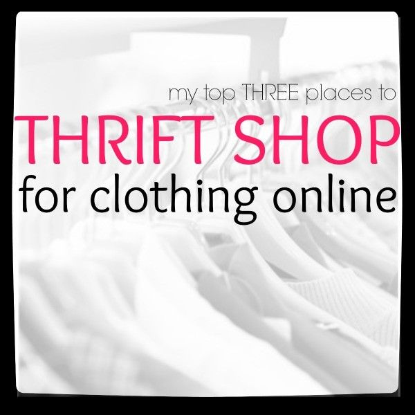 Clothing thrift shops online