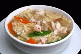 Favorite soup! Hopefully this one taste just like dragon palace Chinese Sizzling Rice Soup Recipe | DIYFood