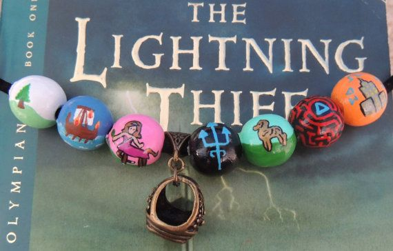 Camp Half-Blood Necklace: Annabeths Necklace with Her fathers Collage ring via Etsy