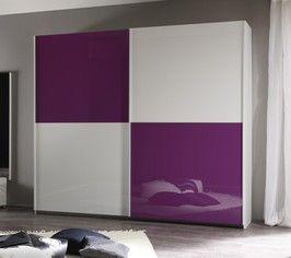 armadio 2 ante scorrevoli laccato in vari colori economico