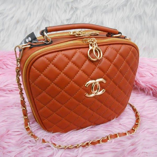 TAS MURAH IRFA' HEIRAH BAG'SHOP: CHANEL APEL 2RUANG/CHANEL-B3374