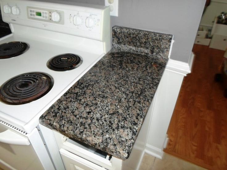 Caledonia Granite 4 12 13 Granite Countertops Installed In Charlotte NC  60/40 Sink Wellington · Caledonia GraniteWhite Kitchen CabinetsWhite ...