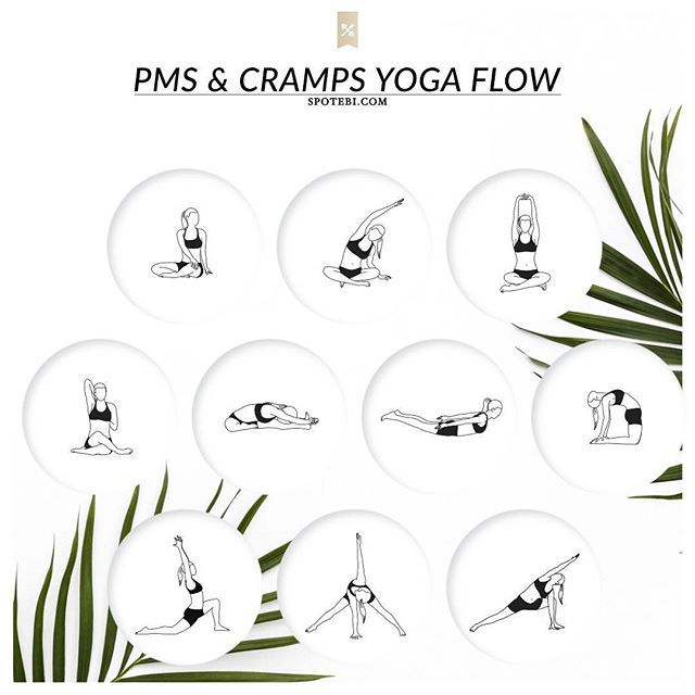 Relieve PMS symptoms and ease menstrual cramps with this 13-minute yoga…