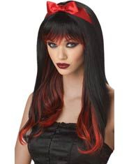 Red And Black Enchanted Tresses Wig