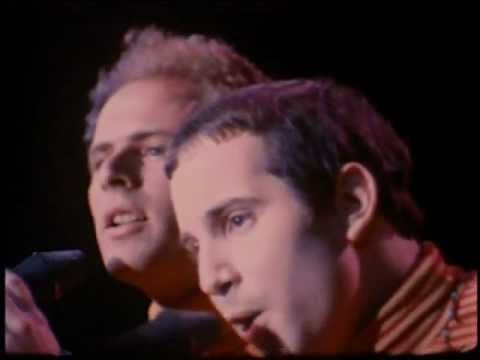 SIMON & GARFUNKEL - Sound of silence   (1967 Live): I don't know if Paul Simon would have made it to his original fame without Art Garfunkel by his side.... wonderful harmony, but the winner goes to Garfunkel for the best voice.