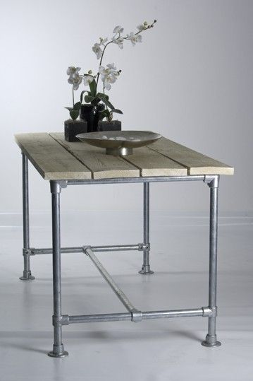 scaffolding table for outside...