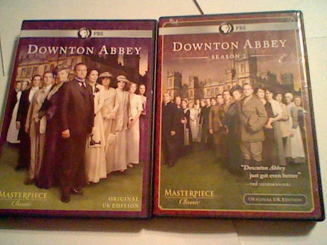 Masterpiece Classic: Downton Abbey - Season 1 and 2 (DVD, 2011, 3-Disc Set)