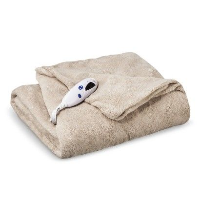 Heated Blanket $24.99, ON SALE NOW at Target