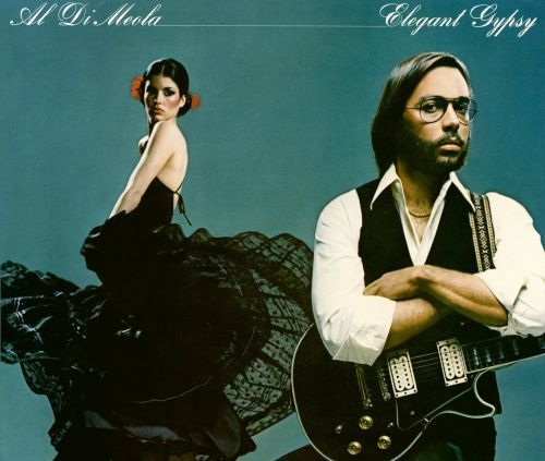 "Al Di Meola's ""Elegant Gypsy"" is his second album recorded between May and September 1977. TODAY in LA COLLECTION RVJ >> http://go.rvj.pm/dmn"