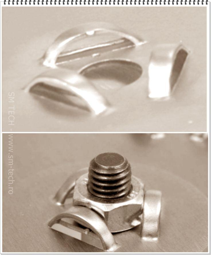 Scula Triple Bridge pentru deformare blocare piulita - disponibila in varianta Trumpf si Thick-Turret