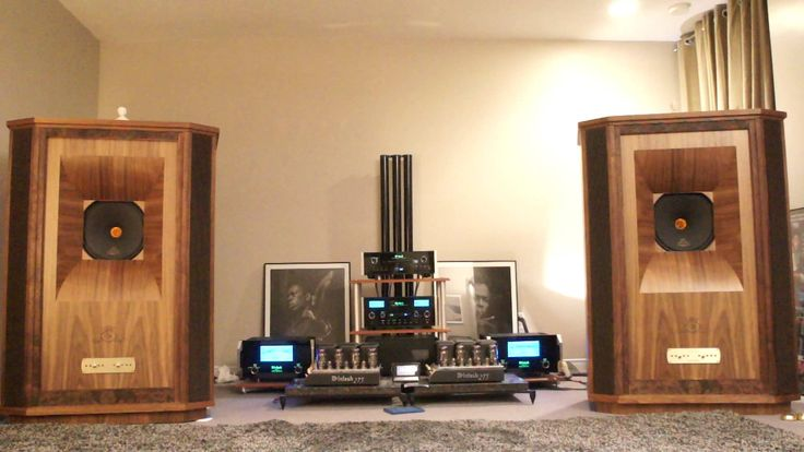 "Tannoy Westminster Royal ""Gold Reference"" with McIntosh"