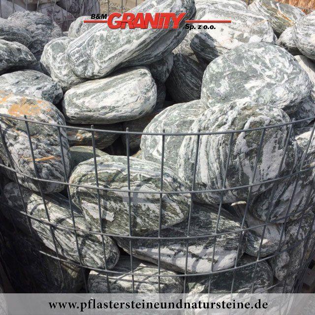 Natursteinmauer / Gabionensteine