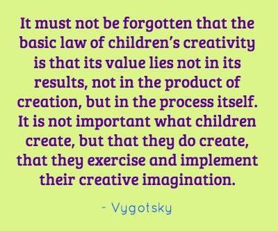 Vygotsky | Children, Play and Creativity | Pinterest ...