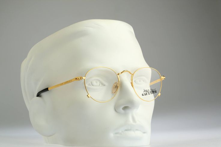 Jean Paul Gaultier 55-1178 / vintage eyeglasses and sunglasses / NOS / 90's rare and unique by CarettaVintage on Etsy