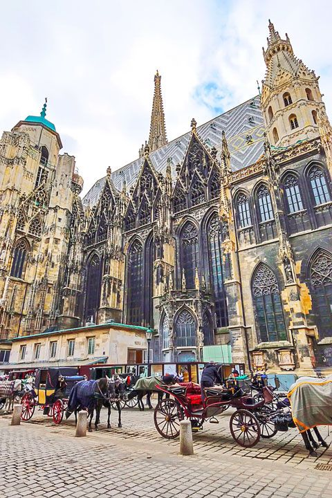I've been to Vienna, but it's one of those places you'll never get enough of ...