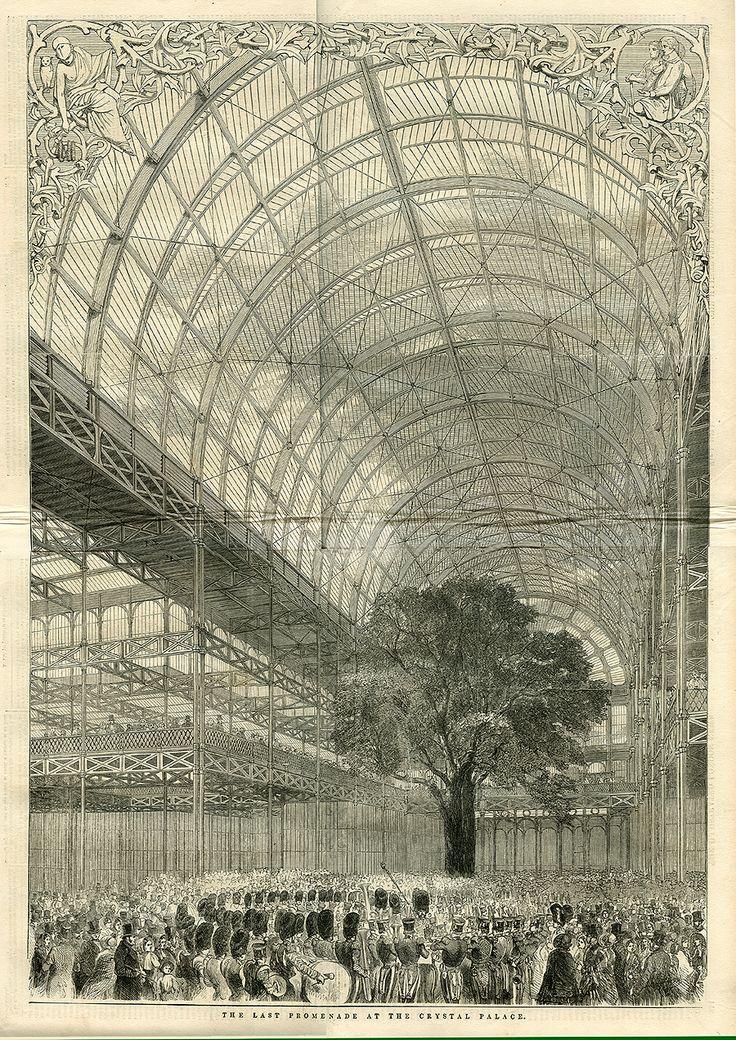 The Crystal Palace, Hyde Park, London, 1851.