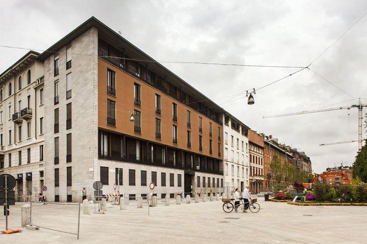 Casa Caccia Dominioni, Piazza Sant'Ambrogio, Milano. Photo: Filippo Romano. Courtesy: Archivio Caccia Dominioni.