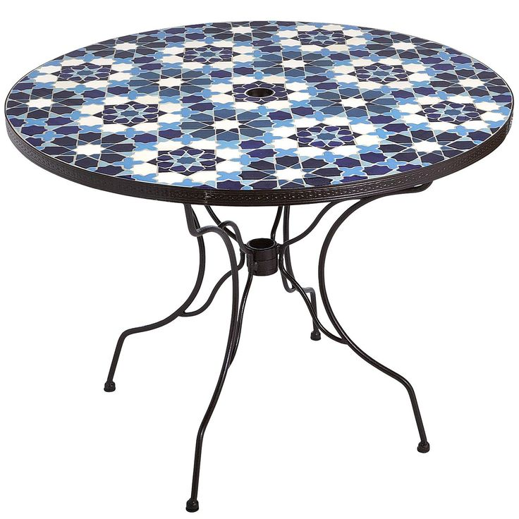 Awesome Trinidad Mosaic Table   Blue | Pier 1 Imports