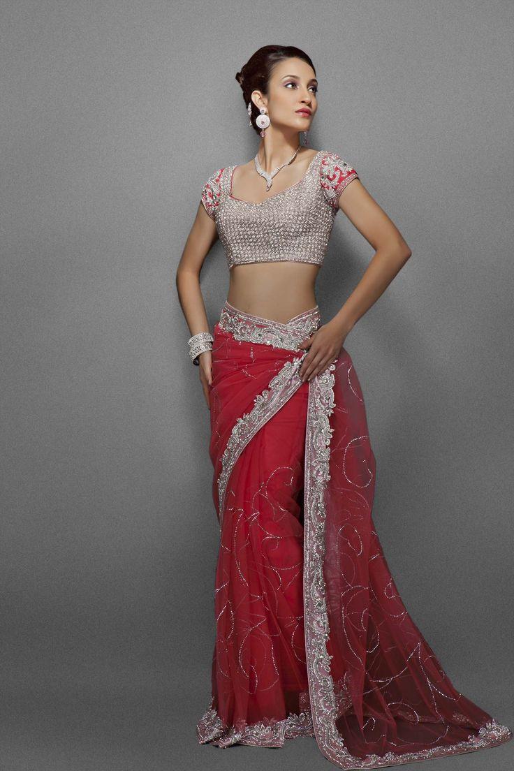 zarilane stylish indian sari