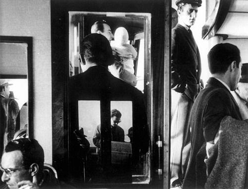 Gianni Berengo Gardin; Vaporetto, Venise, 1960