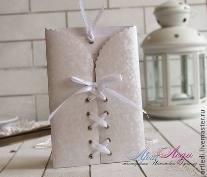 """Приглашения на свадьбу """"Лебединая песня"""" - белый,приглашение на свадьбу"""
