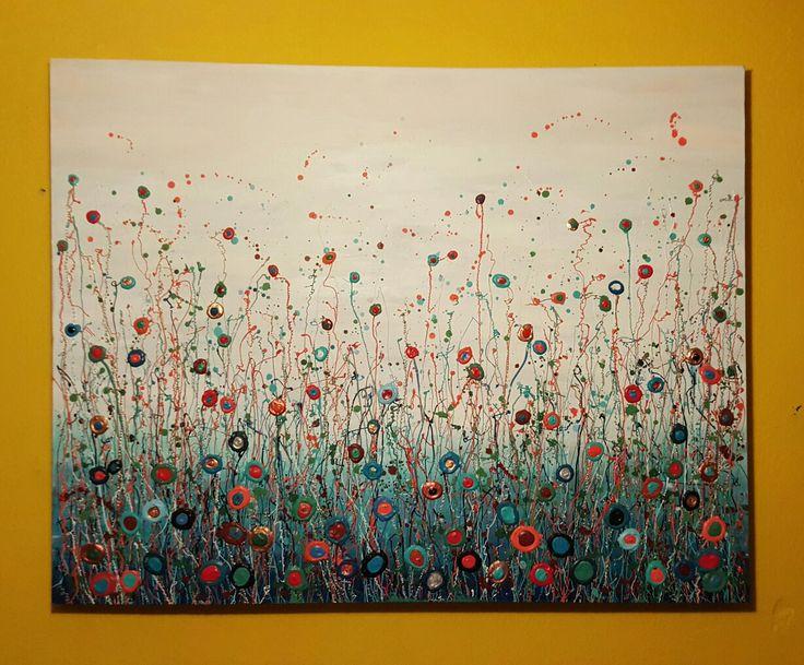 Acryl op doek 90 × 70cm