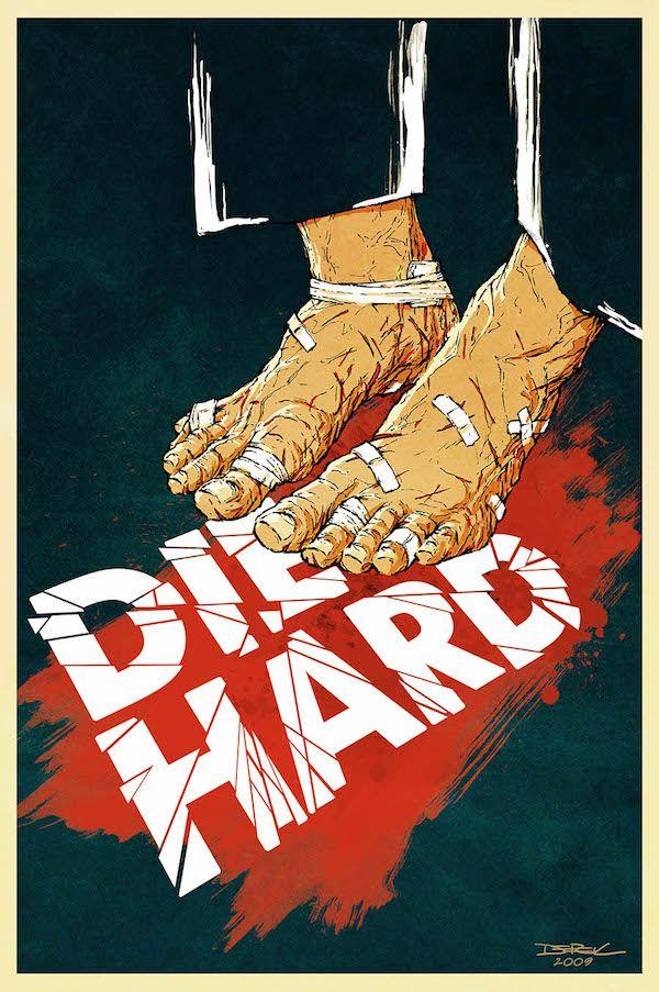 Locandine Alternative Di Film Piu Belle Delle Originali Il Post Die Hard Derek Chatwood Washington Usa Film Poster