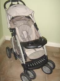 Second Hand Graco Stroller for sale in Rajasthan. this is Foldable. Three positions for child comfort…