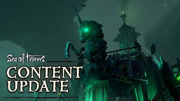 Sea Of Thieves October Update Adds Fort Of The Damned Skeleton Pets And More Sea Of Thieves Old Xbox Thief