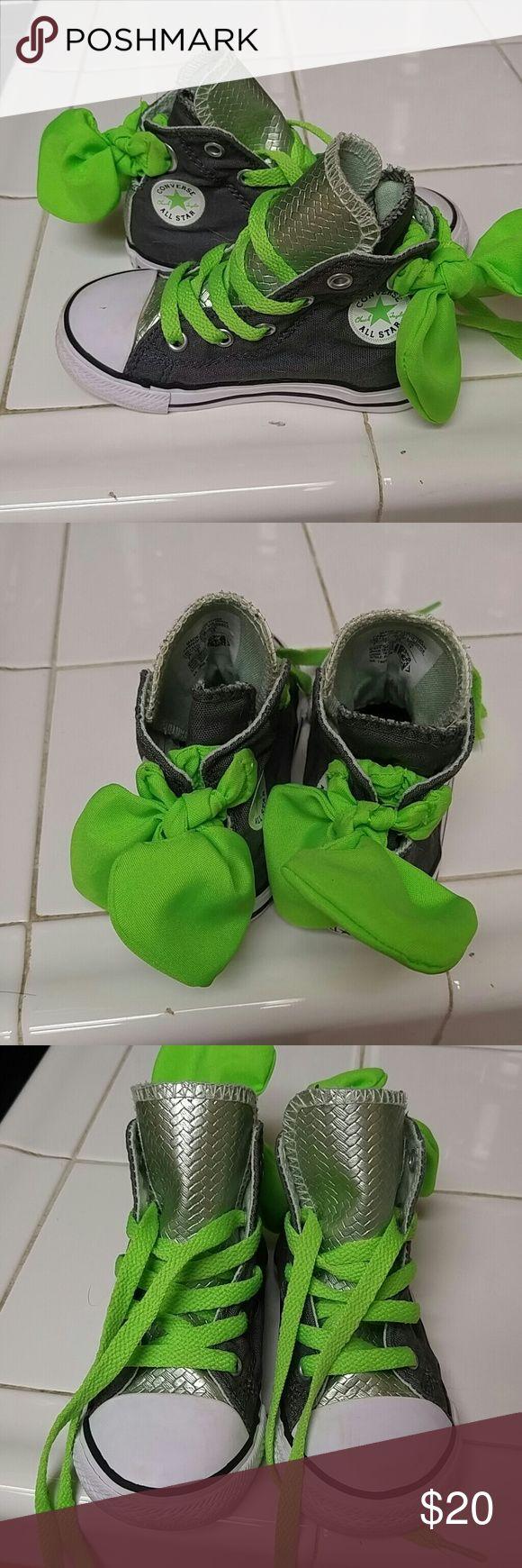 Converse high tops Little girls Converse high tops Converse Shoes Sneakers