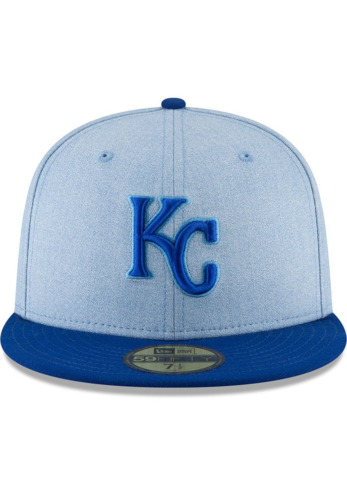 f06279dd9 New Era Kansas City Royals Mens Blue 2018 Father's Day 59FIFTY ...