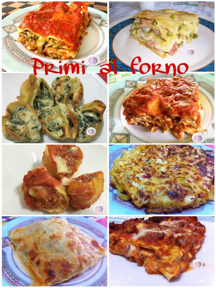 Primi al forno è una raccolta di ricette che ha come protagonista la pasta al forno. La pasta é buonissima in qualunque modo, anche condita con un sugo