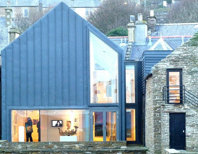 Pier Arts Centre Extension - Stromness by orquil, via Flickr