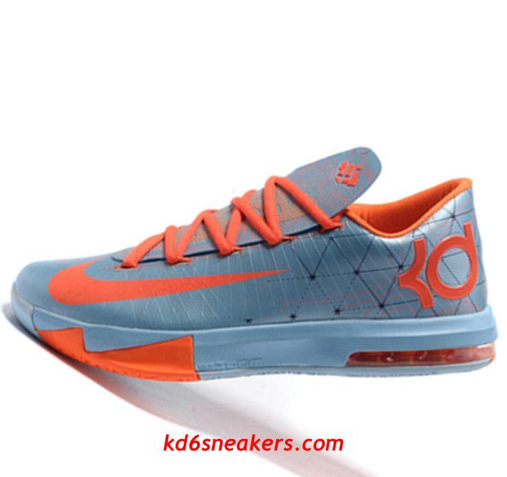 Nike KD VI 6 Orange Kevin Durant Basketball shoes