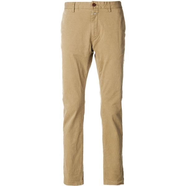 Closed skinny chinos ($131) ❤ liked on Polyvore featuring men's fashion, men's clothing, men's pants, men's casual pants, mens chinos pants, mens super skinny dress pants, mens skinny chino pants, mens skinny fit dress pants and mens chino pants