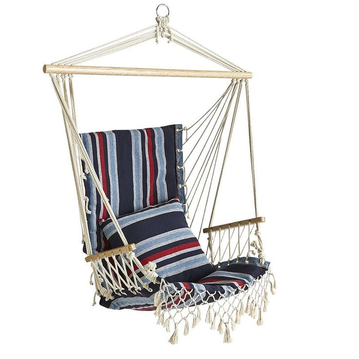 canvas hammock chair   navy   pier 1 imports canvas hammock chair   navy   pier 1 imports   outdoor   pinterest      rh   pinterest