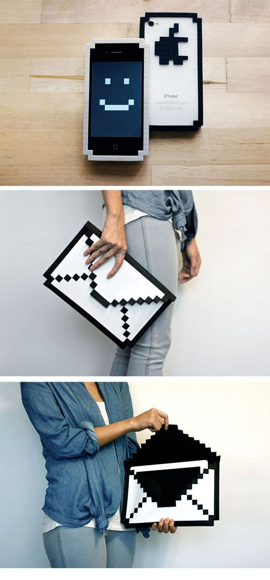 8-BIT BUMPER for iPhone  &  8-BIT SLEEVE for iPad