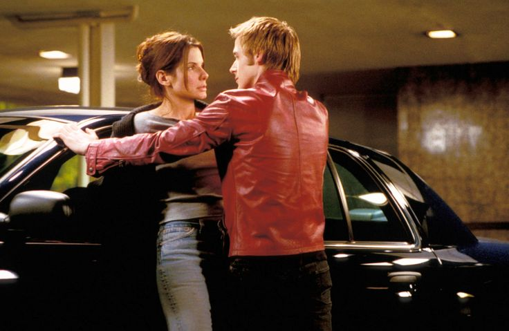 """Murder By Numbers"" movie still, 2002.  L to R: Sandra Bullock, Ryan Gosling."