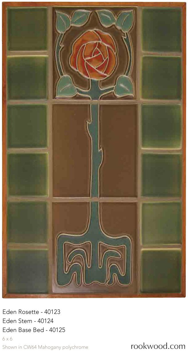 Best 25 tile murals ideas on pinterest ceramic tile art for Art nouveau tile mural