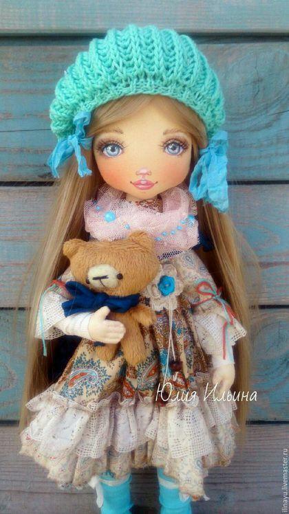 Fabric doll / Коллекционные куклы ручной работы. Ярмарка Мастеров - ручная работа. Купить Кукла текстильная. Handmade. Кукла, американский хлопок