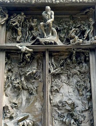 Auguste Rodin the Gates of Hell | Auguste Rodin's Gates of Hell